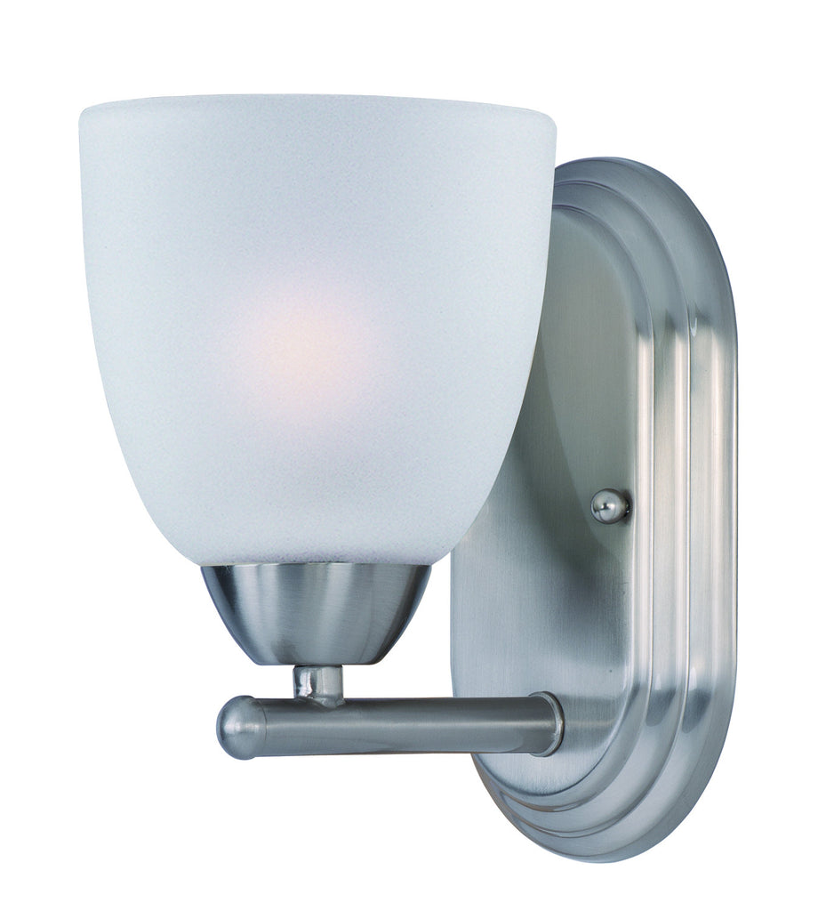 Axis 1-Light Wall Sconce Satin Nickel - C157-11311FTSN