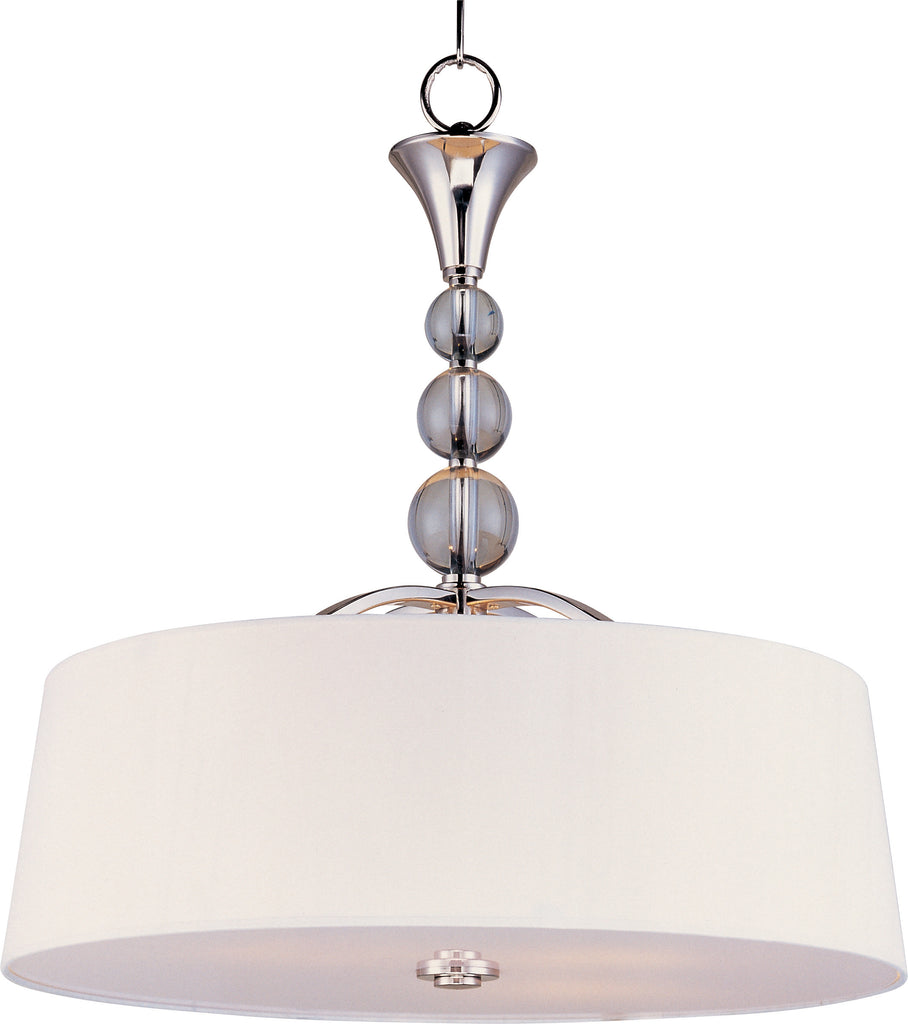 Rondo 4-Light Pendant Polished Nickel - C157-12753WTPN