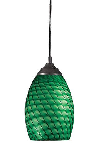 Zlite 1 Light Mini Pendant - C161-131-GREEN