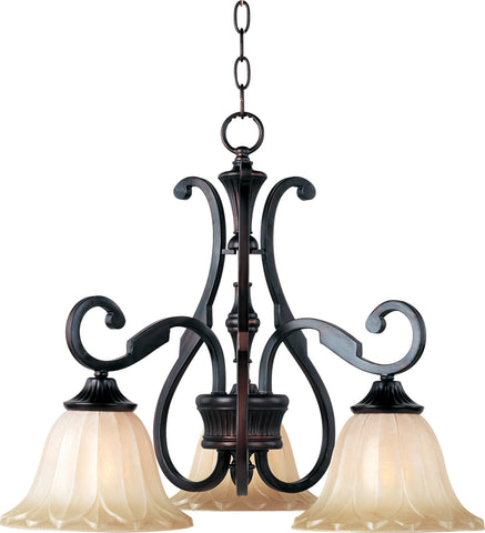 Allentown 3-Light Chandelier Oil Rubbed Bronze - C157-13504WSOI