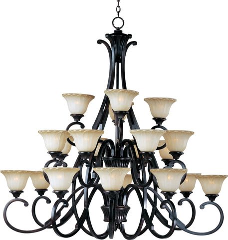 Allentown 20-Light Chandelier Oil Rubbed Bronze - C157-13507WSOI