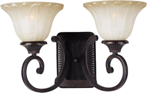 Allentown 2-Light Bath Vanity Oil Rubbed Bronze - C157-13512WSOI