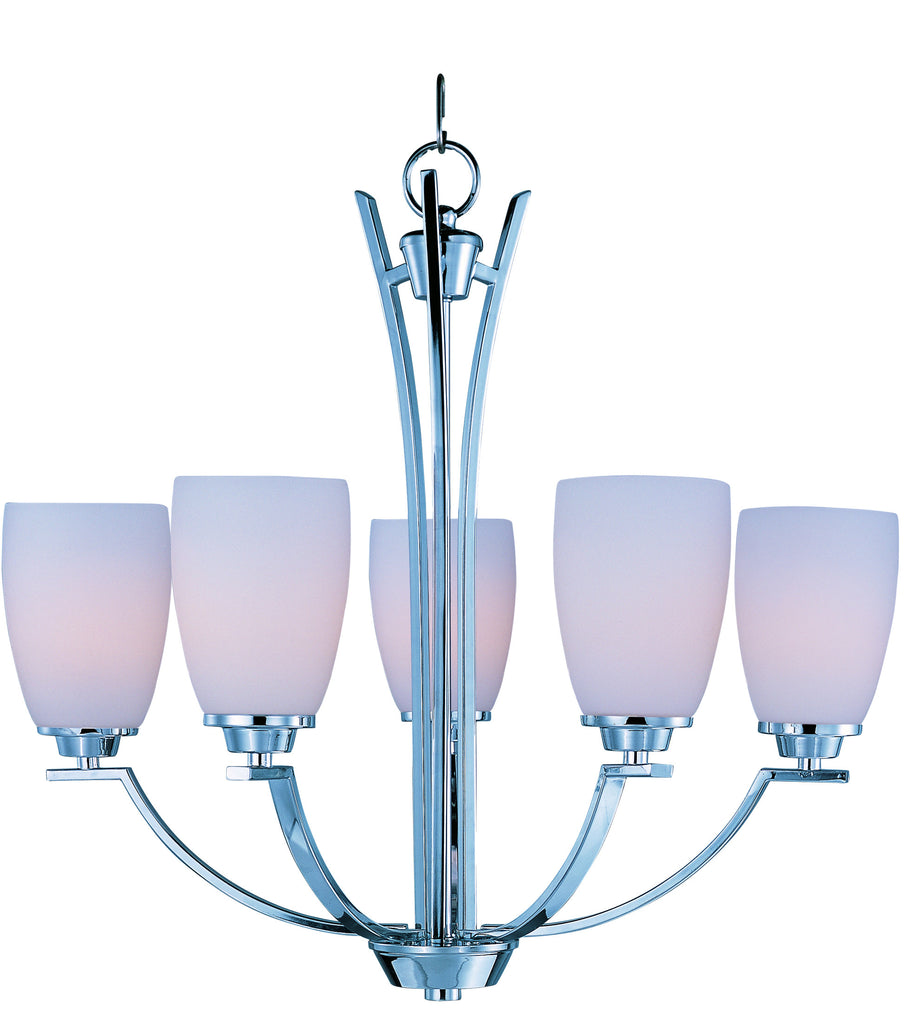 Rocco 5-Light Chandelier Polished Chrome - C157-20025SWPC