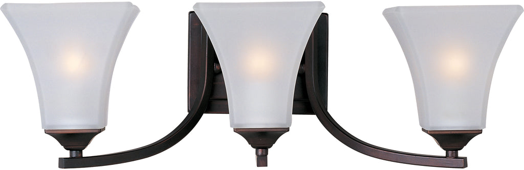 Aurora 3-Light Bath Vanity Oil Rubbed Bronze - C157-20100FTOI