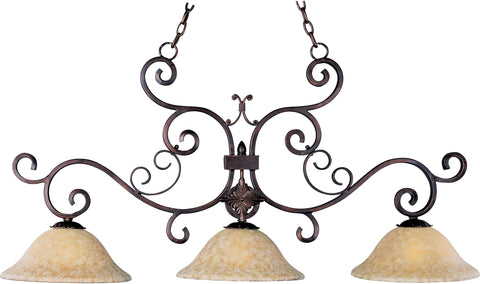 Verona 3-Light Pendant Oil Rubbed Bronze - C157-20637VAOI