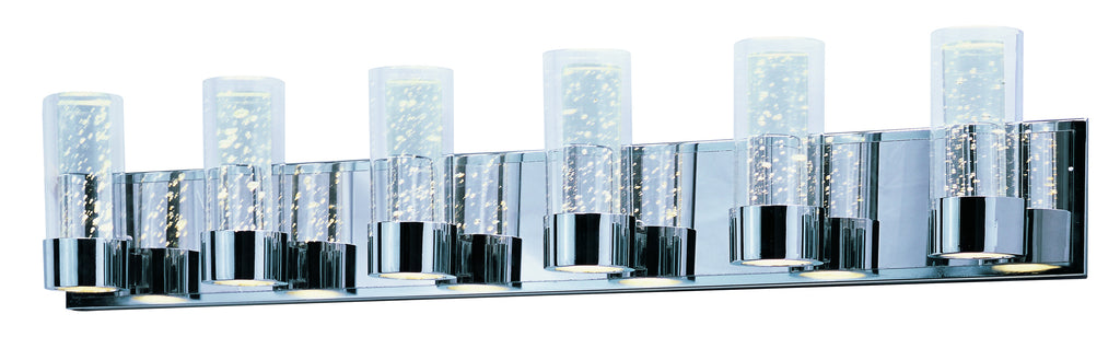 Sync LED 6-Light Vanity Polished Chrome - C157-20906CLPC