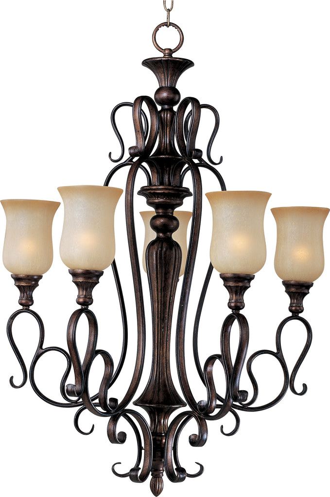 Sausalito 5-Light Chandelier Filbert - C157-21125MCFL