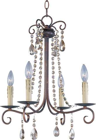 Adriana 4-Light Chandelier Urban Rustic - C157-22194UR