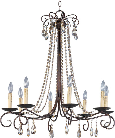 Adriana 8-Light Chandelier Urban Rustic - C157-22197UR