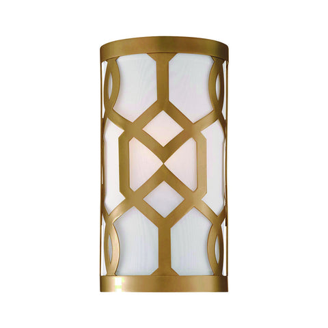 1 Light Aged Brass Modern Sconce - C193-2262-AG