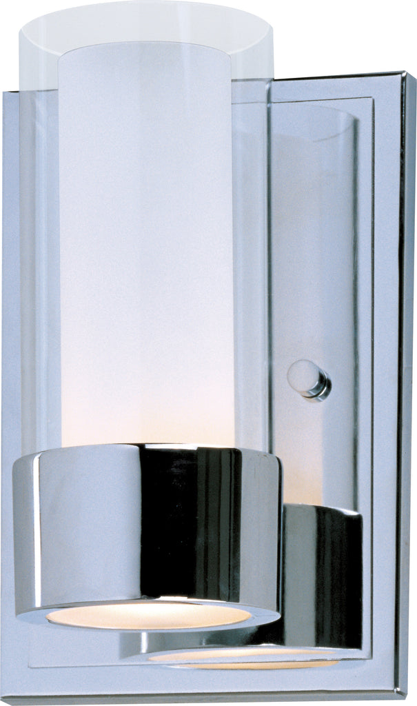 Silo 1-Light Wall Sconce Polished Chrome - C157-23071CLFTPC