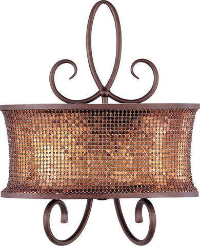 Alexander 2-Light Wall Sconce Umber Bronze - C157-24168SBUB