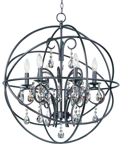 Orbit 6-Light Pendant Oil Rubbed Bronze - C157-25144OI