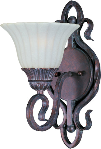 Via Roma 1-Light Wall Sconce Greek Bronze - C157-2786SVGB
