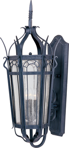 Cathedral 3-Light Outdoor Wall Lantern Country Forge - C157-30043CDCF