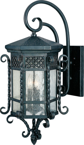Scottsdale 3-Light Outdoor Wall Lantern Country Forge - C157-30125CDCF