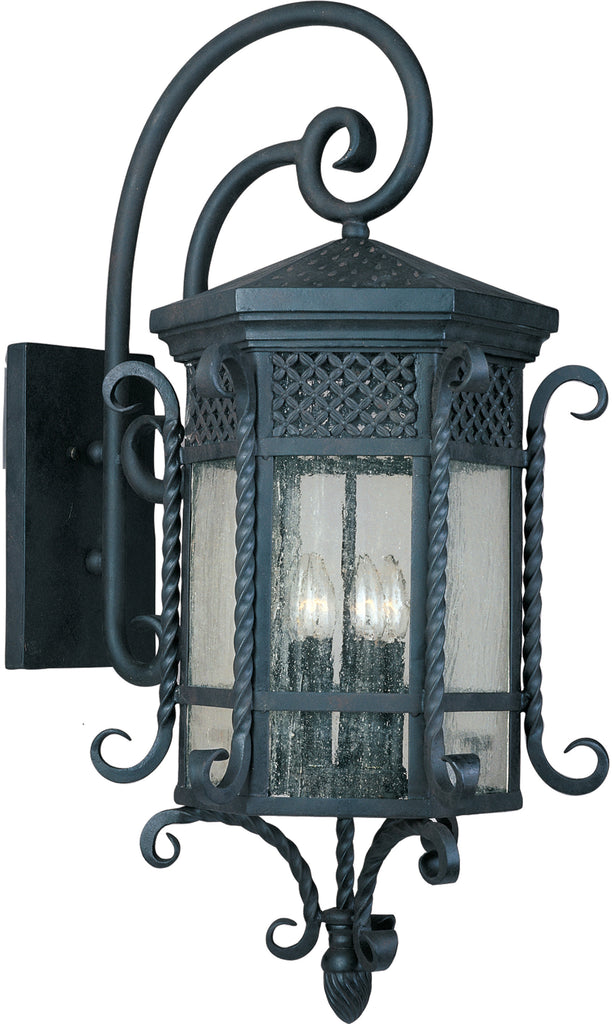 Scottsdale 5-Light Outdoor Wall Lantern Country Forge - C157-30126CDCF