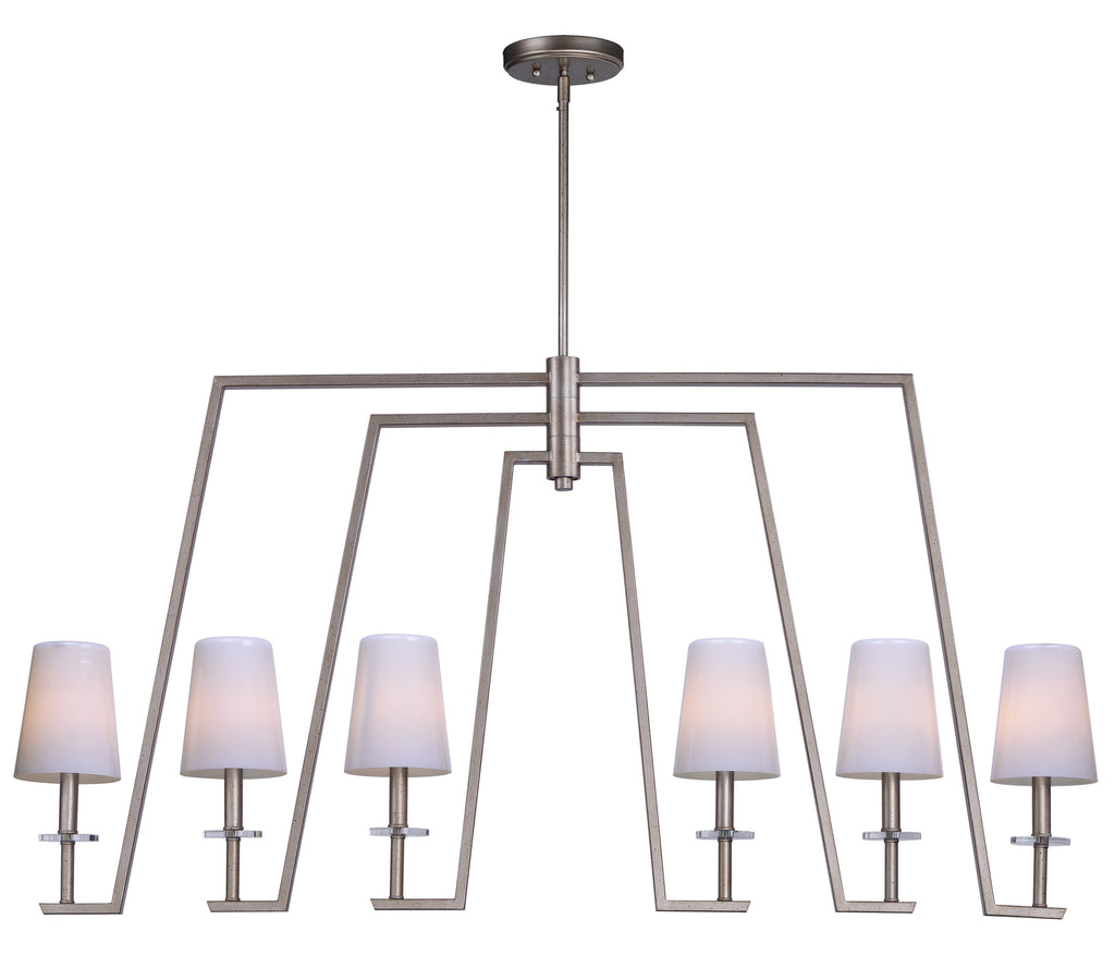 Swing 6-Light Chandelier Platinum Dusk - C157-30257WTPD