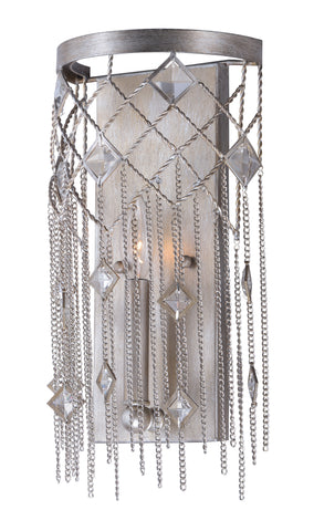 Alessandra 1 Light Wall Sconce Silver Mist - C157-30272SM