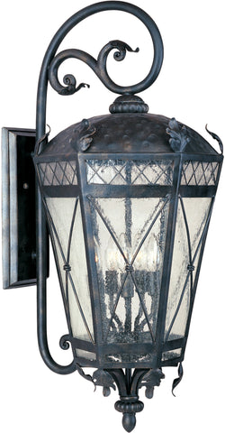 Canterbury 3-Light Outdoor Wall Lantern Artesian Bronze - C157-30456CDAT