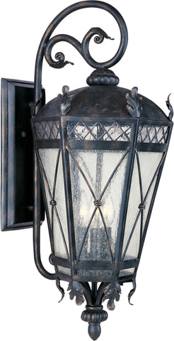 Canterbury 5-Light Outdoor Wall Lantern Artesian Bronze - C157-30457CDAT