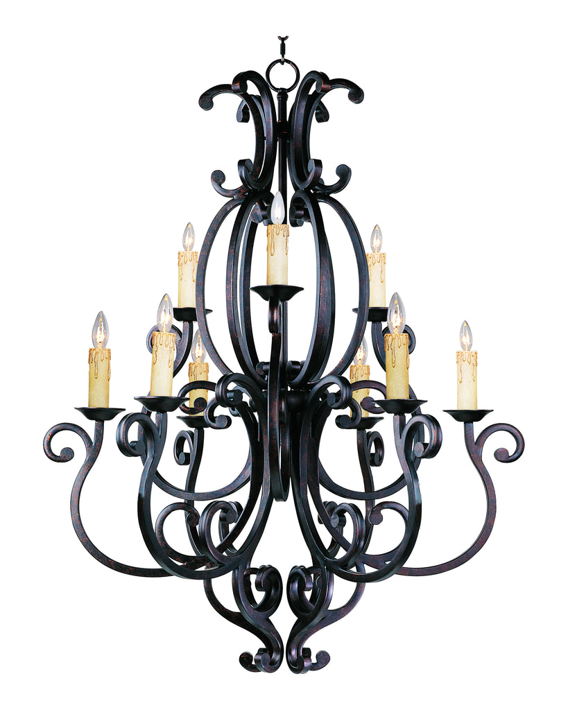 Richmond 9-Light Chandelier Colonial Umber - C157-31006CU