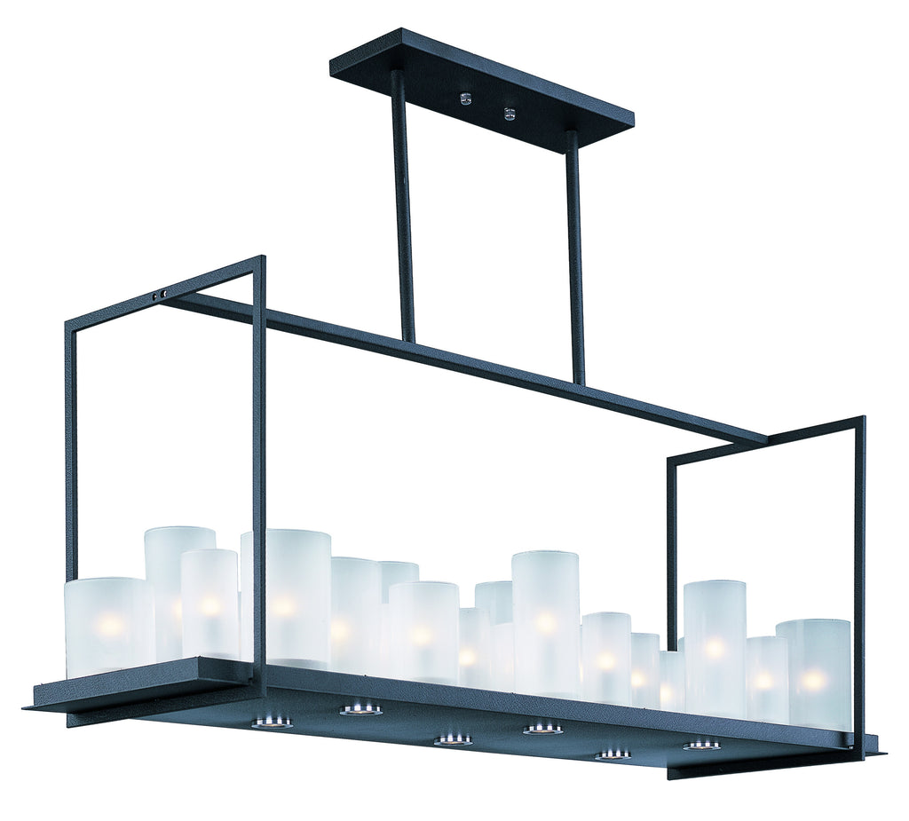 Urban Nights 29-Light Chandelier Textured Black - C157-32468FTTXB