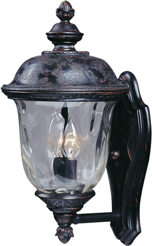 Carriage House DC 2-Light Outdoor Wall Lantern Oriental Bronze - C157-3422WGOB