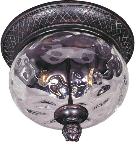 Carriage House DC 2-Light Outdoor Ceiling Mount Oriental Bronze - C157-3429WGOB