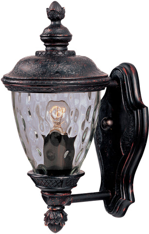 Carriage House DC 1-Light Outdoor Wall Lantern Oriental Bronze - C157-3495WGOB