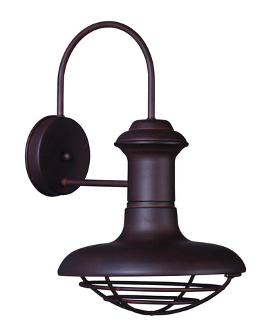Wharf 1-Light Outdoor Wall Lantern Empire Bronze - C157-35012EB