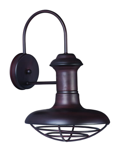 Wharf 1-Light Outdoor Wall Lantern Oriental Bronze - C157-35012OB