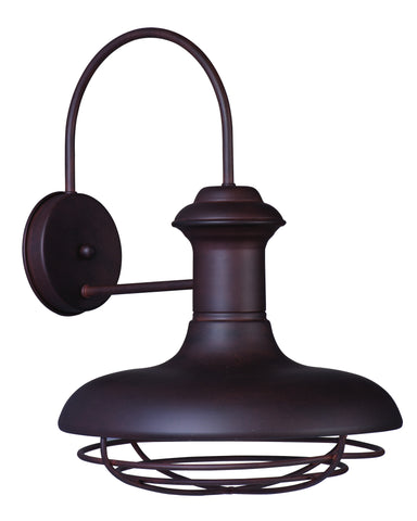 Wharf 1-Light Outdoor Wall Lantern Empire Bronze - C157-35013EB
