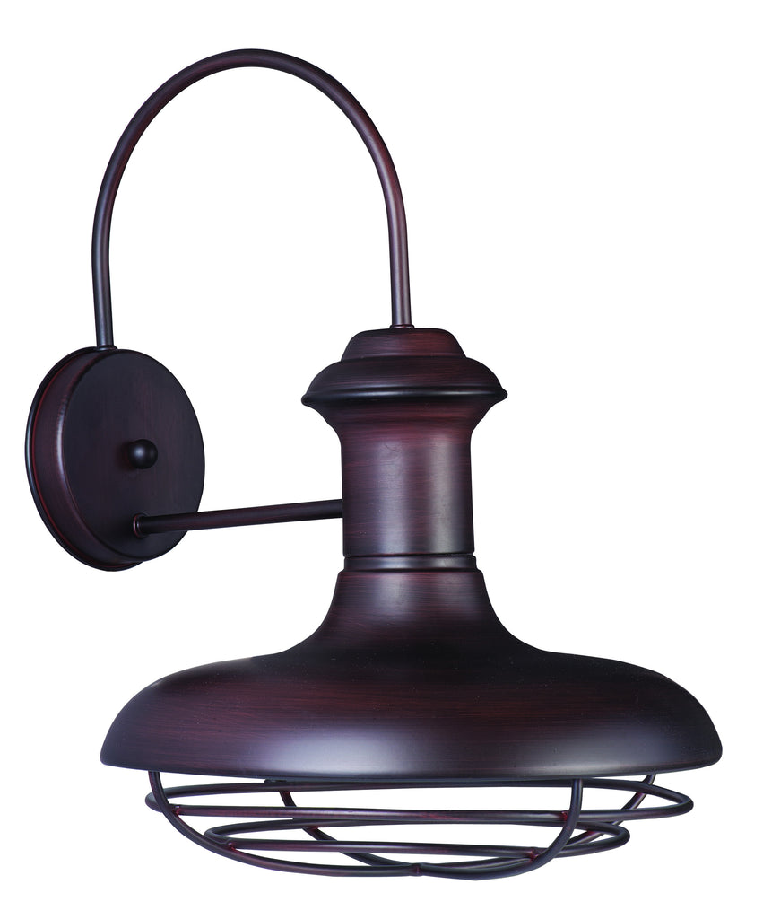 Wharf 1-Light Outdoor Wall Lantern Oriental Bronze - C157-35013OB