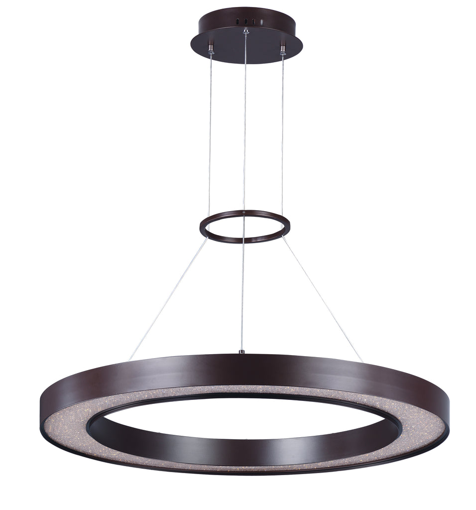 Splendor LED Pendant Bronze - C157-35047CRYBZ