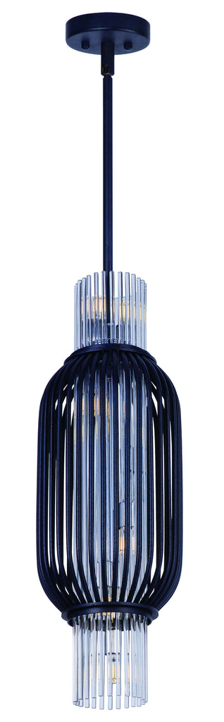 Aviary LED 8-Light Pendant Anthracite - C157-38383CLAR