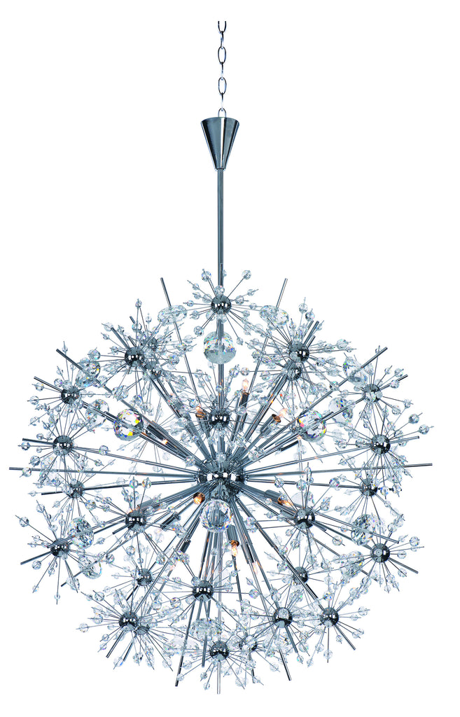Starfire 18-Light Chandelier Polished Chrome - C157-39746BCPC