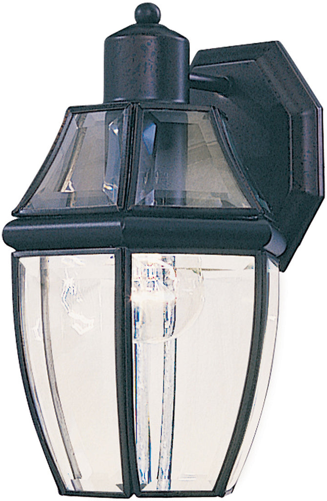 South Park 1-Light Outdoor Wall Lantern Black - C157-4010CLBK