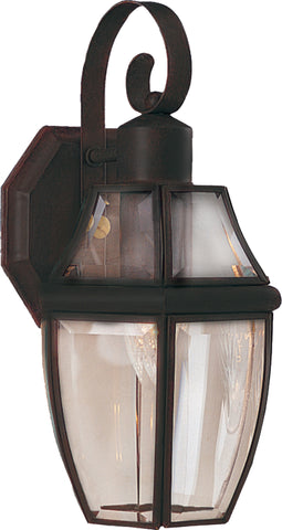 South Park 1-Light Outdoor Wall Lantern Burnished - C157-4011CLBU