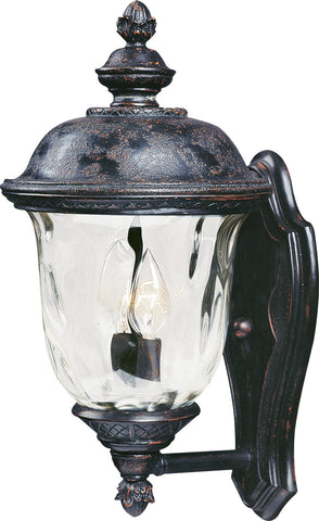 Carriage House VX 2-Light Outdoor Wall Lantern Oriental Bronze - C157-40422WGOB