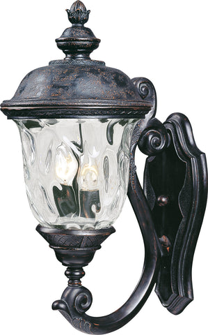 Carriage House VX 2-Light Outdoor Wall Lantern Oriental Bronze - C157-40423WGOB