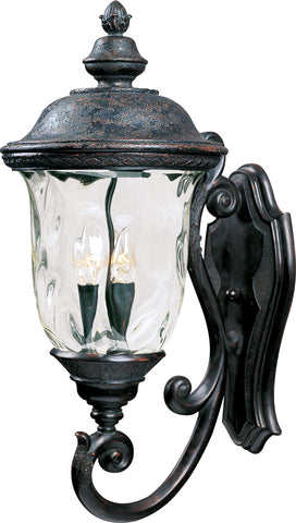Carriage House VX 3-Light Outdoor Wall Lantern Oriental Bronze - C157-40424WGOB