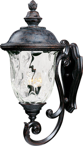 Carriage House VX 3-Light Outdoor Wall Lantern Oriental Bronze - C157-40425WGOB