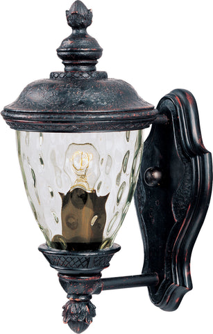 Carriage House VX 1-Light Outdoor Wall Lantern Oriental Bronze - C157-40495WGOB