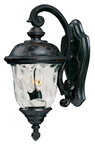 Carriage House VX 2-Light Outdoor Wall Lantern Oriental Bronze - C157-40496WGOB
