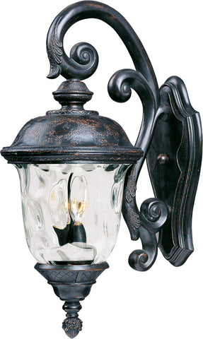 Carriage House VX 3-Light Outdoor Wall Lantern Oriental Bronze - C157-40497WGOB
