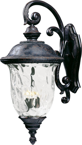Carriage House VX 3-Light Outdoor Wall Lantern Oriental Bronze - C157-40498WGOB
