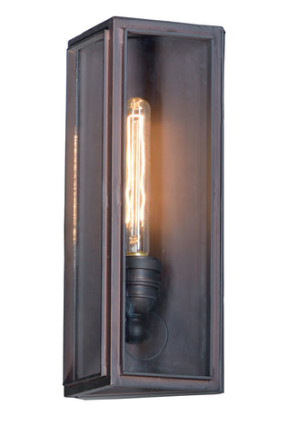 Pasadena 1-Light Outdoor Wall Lantern Oil Rubbed Bronze - C157-4063CLOI