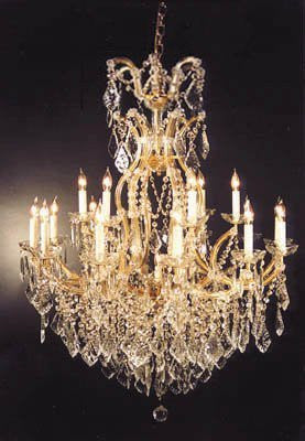 "Chandelier Crystal Lighting Chandeliers H44"" X W37"" - A83-52/21510/15+1"