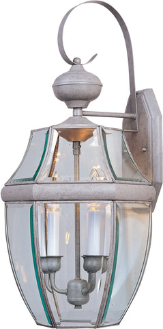 South Park 3-Light Outdoor Wall Lantern Burnished - C157-4192CLBU
